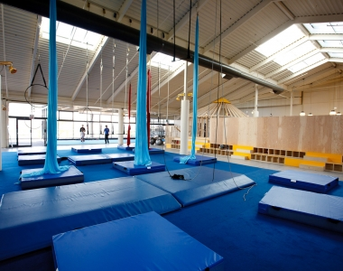 Building a Circus School – New Westminster